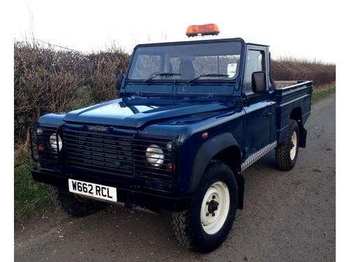 2000 W Land Rover Defender 110 Hi Cap Pick Up Td5 Only