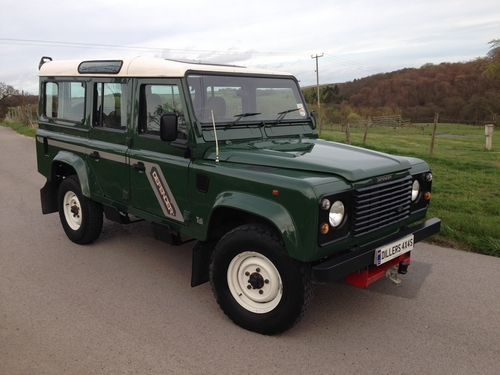 1996/N LAND ROVER DEFENDER 110 COUNTY STATION WAGON 300 Tdi *SUPERB
